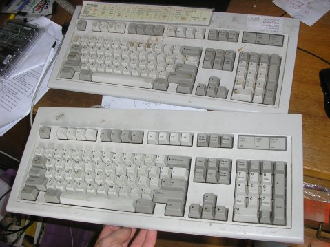 A couple of Ms, from 1988 and 1993.