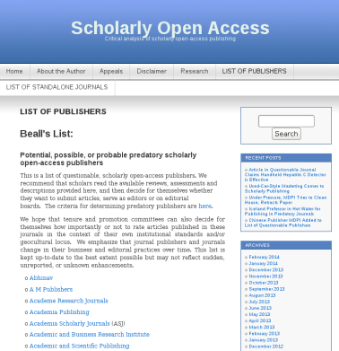 The Open Access Journal Rant | Darren Goossens