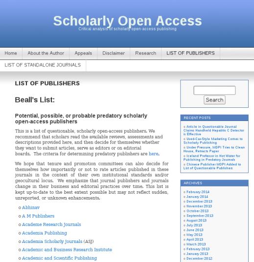 The Open Access Journal Rant | Darren Goossens