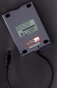 Fujitsu USB floppy drive.