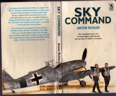 The cover of Sky Command by Anton Richler