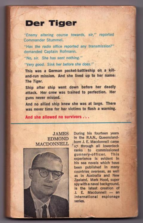 Back cover of <i>Behemoth</i> by J. E. MacDonnell.