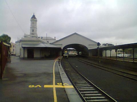 Ballarat train station.