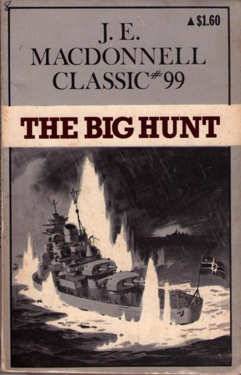 Cover of <i>The Big Hunt</i> by J.E.Macdonnell.