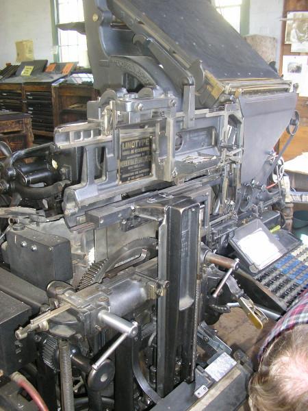 The Chiltern Linotype 2.