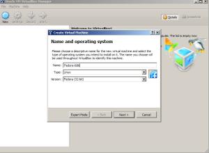 Install Fedora figure 1
