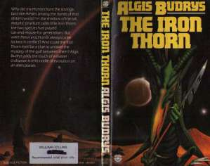 Cover of <i>The Iron Thorn</i> by Algis Budrys.