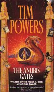 Front cover of <em>The Anubis Gates</em> by Tim Powers.