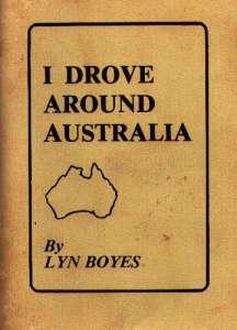 Cover of <em>I Drove Around Australia</em> by Lyn Boyes.