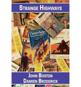 Cover of <em>Strange Highways</em> by Boston and Broderick.