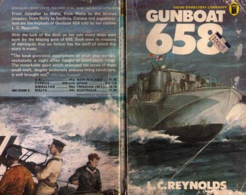 Cover of <em>Gunboat 658</em> by L. C. Reynolds.