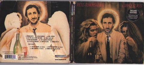 Digipak case for <em>Empty Glass</em> by Pete Townshend.