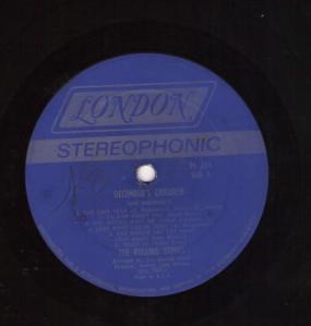 Side A label