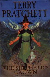 The cover of <i>The Shepherd's Crown</i> by Terry Pratchett.