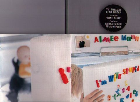 CD insert of <i>I'm With Stupid</i> by Aimee Mann.