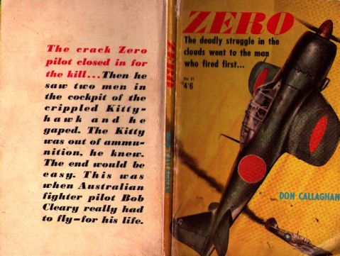 Cover of <i>Zero</i> by Don Callaghan.
