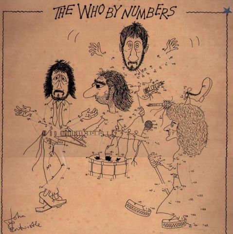 <i>The Who By Numbers</i> LP sleeve.