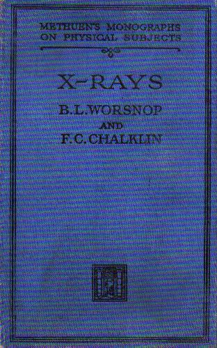 Cover of X-rays by Worsnop and Chalklin.