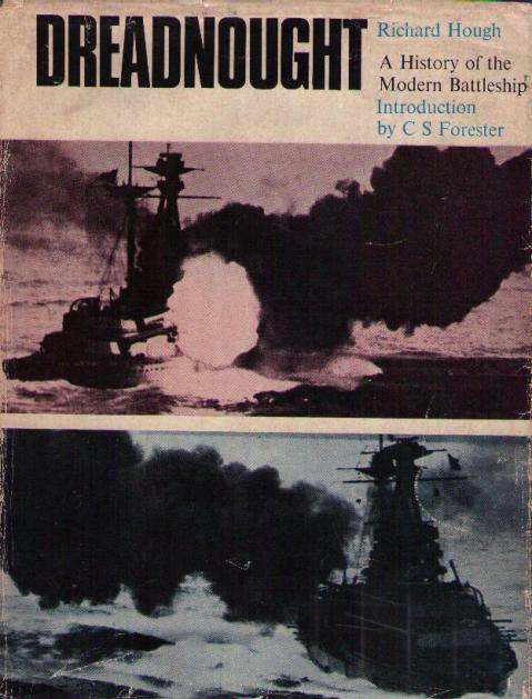 The front cover of <i>Dreadnought</i> by Richard Hough.