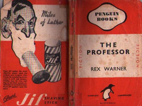 The cover of <i>The Professor</i> by Rex Warner.