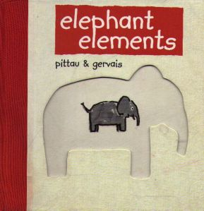 The front cover of <i>Elephant Elements</i>.