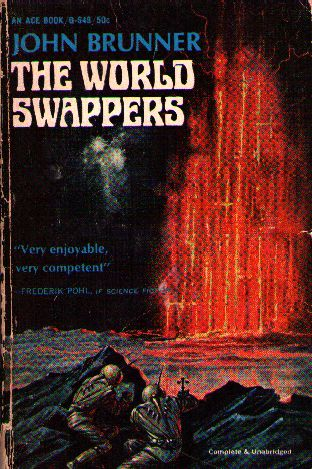 Cover of <i>The World Swappers</i> by John Brunner.