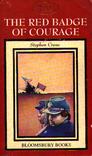 Cover of <i>The Red Badge of Courage</i> -- do not buy this edition!