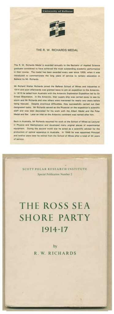 <i>The Ross Sea Shore Party</i> by Dick Richards.