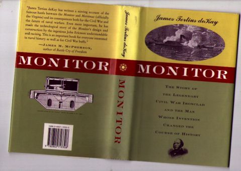 Cover of <i>Monitor</i>, the book about the boat.