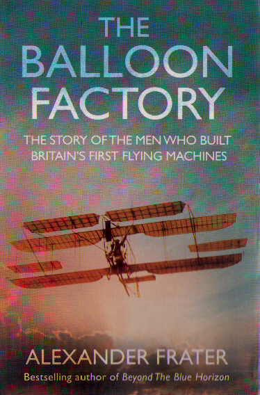Cover of <i>The Balloon Factory</i> by Alexander Frater.
