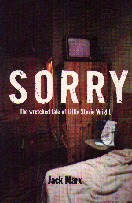 image of the front cover of Sorry by Jack Marx.