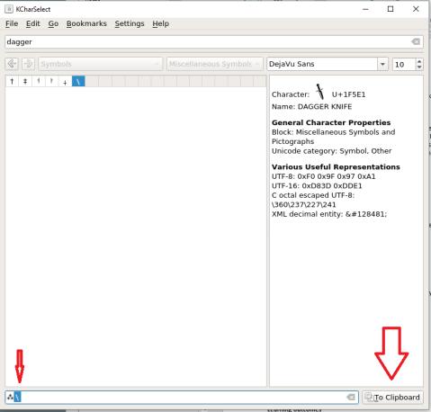Screenshot showing the application running.