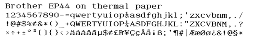 scan of the typeface -- it's quite nice