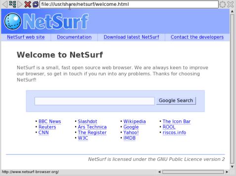 netsurf-fb -- screenshot