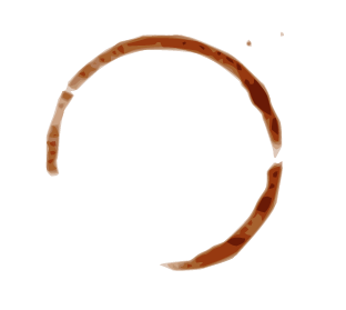 Picture of a coffee stain