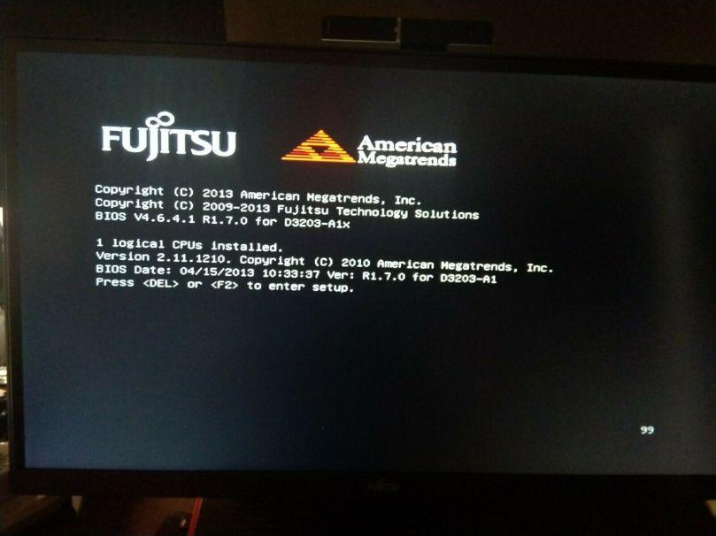Futro boot screen